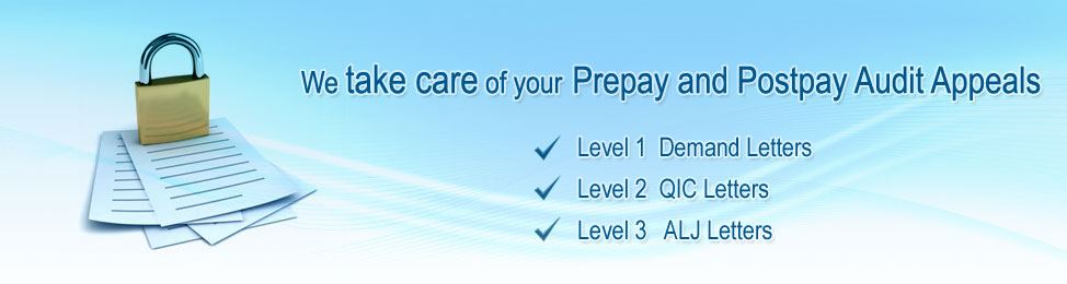 Prepay and Postpay Audit Appeals